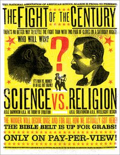 the fight of the century!!!! #evolution #typography