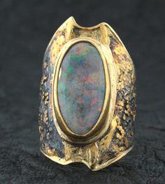 Andamooka Opal Ring Marne Ryan