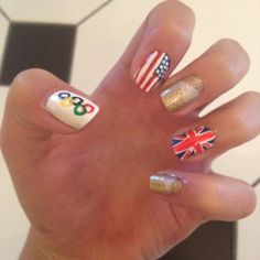 Olympic nails!!