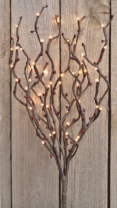 "Berry Twig Light Branch 20"" - KP Creek Country Gifts"