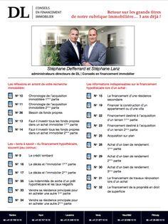 #Conseil #Immobilier #Vente Résumé des chroniques DL
