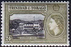 Trinidad and Tobago 1953 Government House Fine Mint SG 275 Scott 80 Other West Indies and British Commonwealth Stamps HERE!