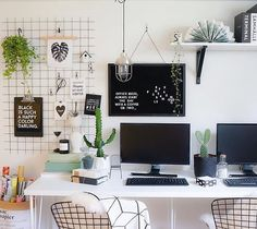 """Monday #workspacegoals + regram from @kidsdesignlife  Starting the working week with the new workspace of cool kids blog @kiddesignlife  Such a nice layout with the lamp, poster selection + letter board outlining the all important """"office rules""""  ...always start the day with a coffee or two ☕️☕️ Thanks @kidsdesignlife for the workspace inspo  Have a great week ✨"""