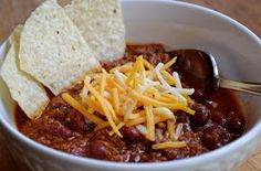 The Keeping Woman: All-American Chili