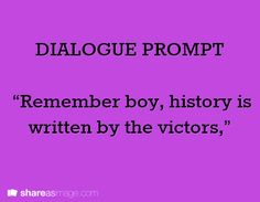 Posts about fantasy dialogue prompt written by thesolitarywordsmith