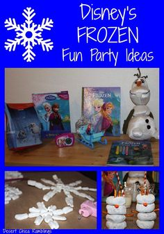 Disney FROZEN Fun Party Ideas Ideas #FROZENfun #shop #cbias