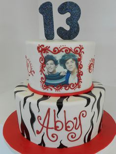 One Direction Cake, this is my next birthday cake