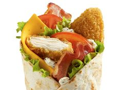 LE McWRAP™ POULET ET BACON | McDonald's France