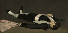 Edouard Manet - The Dead Toreador, 1864