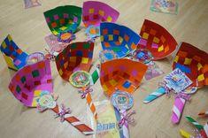 +설날 만들기 : 색종이 복조리 만들기 / 우리나라 주제 만들기 복조리 만들기 우리나라 주제로 만들어도 되...