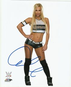 WWE CARMELLA Signed 8x10 Photo