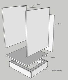 cabinet making 101 tutorial with cut sheet