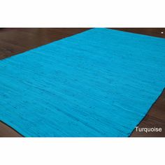 nuLOOM Handmade Solid Flatweave Cotton Rug | Overstock.com Shopping - The Best Deals on 7x9 - 10x14 Rugs