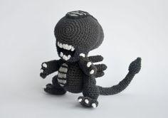 Crochet The Cuddliest Xenomorph