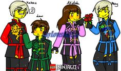 Kids ocs May,Akidah,Kabaz,Lari you don't copy stop! You don't redraw,recolor bad! I'm watching you!!!  ByArt's mine!! My credit: instagram deviantart facebook tumblr twitte