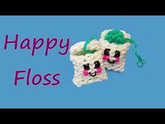 Happy Floss Tutorial by feelinspiffy Rainbow Loom - YouTube