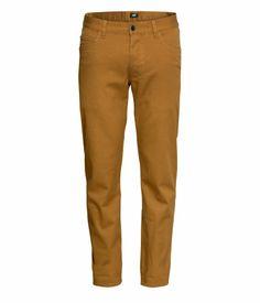 H Twill Pants - Camel/Mustard $30