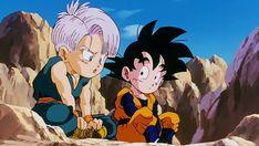 Goten Y Trunks, Db Z, Aesthetic Anime, Goku, Dragon Ball Z, Fantasy, Cartoon, Poster, Typography Poster