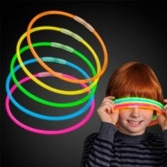 """300 8"""" Glow Light Stick Bracelets Wholesale Pack by FlashingBlinkyLights. $10.99. Great for Halloween, Parties, Bath Tub Fun, Weddings, Bars & More. Non-toxic and CPSIA Compliant. 3 Tubes of 100 Glow Bracelets, 300 Bracelets total -- 300 Connectors Included. Glows 8 - 12 Hours- Brand New & Fresh from the Factory. Contains 5 Brilliant Assorted Colors- make bracelets, necklaces and more!. These are the BEST glow bracelets on the market! Buy only the highest quali..."""