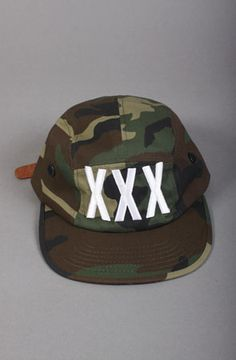 XXX    STREET CAP in Camo by Rum Grown Man 66804507ec21
