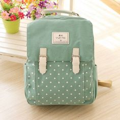 7bcfffa15e Women Canvas Backpack School bag For Girl Ladies Teenagers Casual Travel  bags Schoolbag Backpack