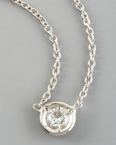 Roberto Coin - Diamond-Station Necklace. Available at Johnson's Jewelers Olde Raleigh!