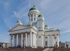 19TH CENTURY, Neo-Classicism, Finland - Johann Carl Ludwig Engel (1778-1840):  Helsinki Cathedral (1830-1852)