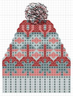 The fair isle toque cross stitch is going to be part of a bigger type sampler. It has been such fun exploring colour and patterns. The possi...