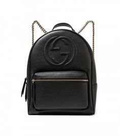 b5caf504194e35 Gucci Soho Textured-Leather Backpack Gucci Handbags