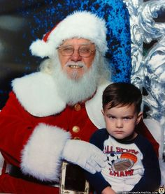 TOUGH KID REFUSES TO SMILE - Creepy Santa