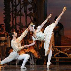 Yosvani Ramos and Leanne Stojmenov in The Australian Ballet's Coppélia. Photo Jim McFarlane