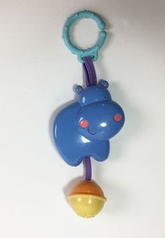 Mattel Luv U Zoo Deluxe Musical Mobile Gym Replacement Hanging Elephant  #Mattel