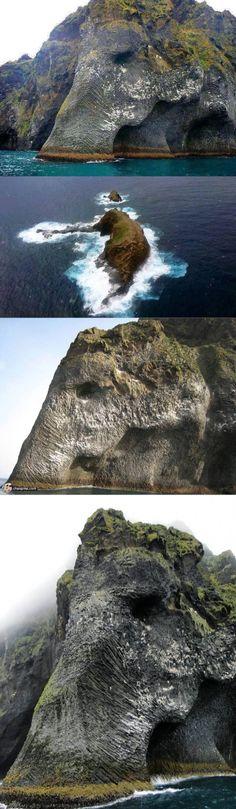 Elephant Rock, Iceland : Damnthatsinteresting