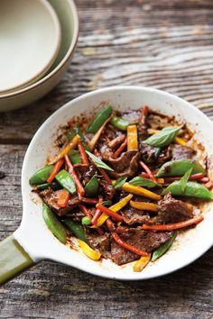 Beef & Basil Stir-Fry with Summer Vegetables | Williams-Sonoma Taste