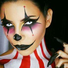 Halloween make up for joker