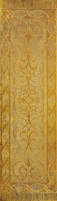 #Gold #mosaic is used in all its forms, from wafer-thin nano-mosaics in gold to #minute mosaics involving a high degree of dexterity and precision