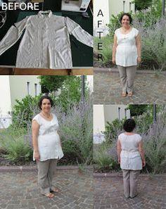OrloSubito it: Prima e dopo: blusa panna
