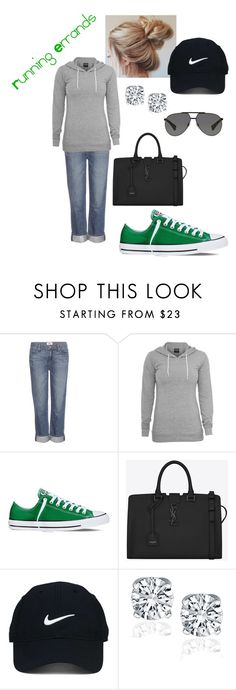 """Untitled #52"" by cslewis-76 ❤ liked on Polyvore featuring Paige Denim, Converse, Yves Saint Laurent, Nike Golf and Dolce&Gabbana"