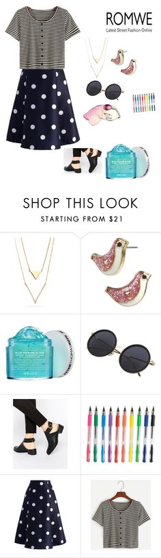 """AG"" by lady-shadylady ❤ liked on Polyvore featuring Betsey Johnson, Peter Thomas Roth, Daisy Street and Chicwish"