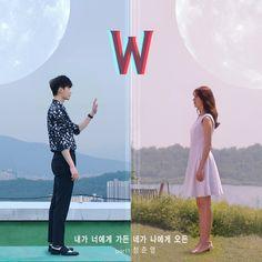 W Two Worlds Wallpaper, Wallpaper W, Lee Jong Suk, Garth Brooks, Kpop Live, Cute Couple Art, Cute Couples, W Two Worlds Art, W Kdrama