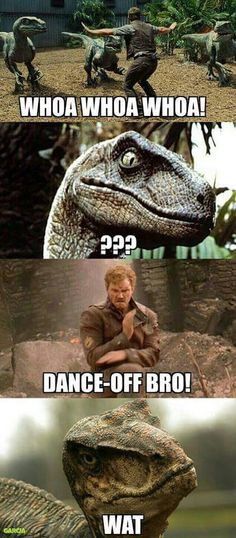 Funny jurassic world guardians of the galaxy meme Dc Memes, Marvel Memes, Funny Memes, Hilarious, Jurrassic Park, Jeux Xbox One, Jurassic Park World, Jurassic Park Funny, Jurassic Movies