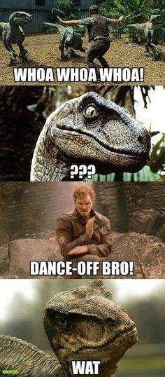 Funny jurassic world guardians of the galaxy meme Dc Memes, Marvel Memes, Funny Memes, Hilarious, Jeux Xbox One, Jurrassic Park, Jurassic Park World, Jurassic Park Funny, Jurassic World Raptors