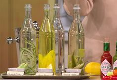 Homemade infused vodkas, soo simple to make, I've tried several of these sooo good!!