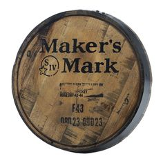 This or any other (or cheaper) bourbon barrel head would be ok. I think it would look cool on a wall