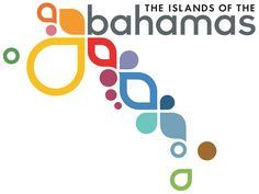 Simplicity and color for the logo for the Islands of the Bahamas.  Each color represents a different island that one can visit.