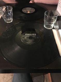 Vinyle en set de table!
