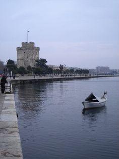 White Tower, Thessaloniki Прекрасна е разходката по крайбрежния булевард...