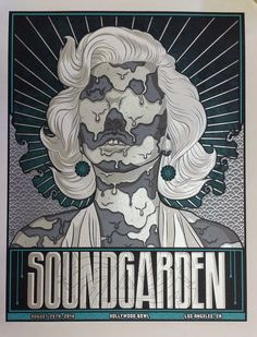 Soundgarden & Built to Spill Poster - Jim Mazza