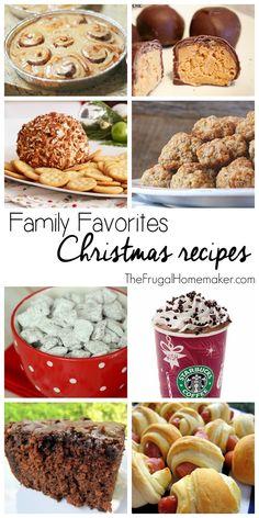 Family Favorites Christmas Recipes