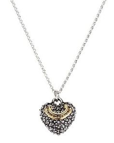 Sugar Plum Fairy Boutique - Juicy Couture Girls Silver Crystal Heart Necklace, $48.00 (http://www.sugarplumfairyboca.com/juicy-couture-girls-silver-crystal-heart-necklace/)